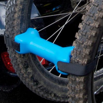 Bike Bones between wheels